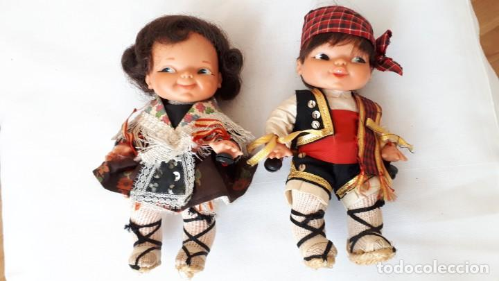 Otras Muñecas de Famosa: PAREJA DE GEMELINES REGIONALES DE FAMOSA - Foto 2 - 249587860