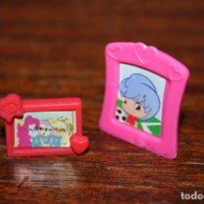 Otras Muñecas de Famosa: DOS MARCOS DE FOTOS PIN Y PON. Lote 252539885