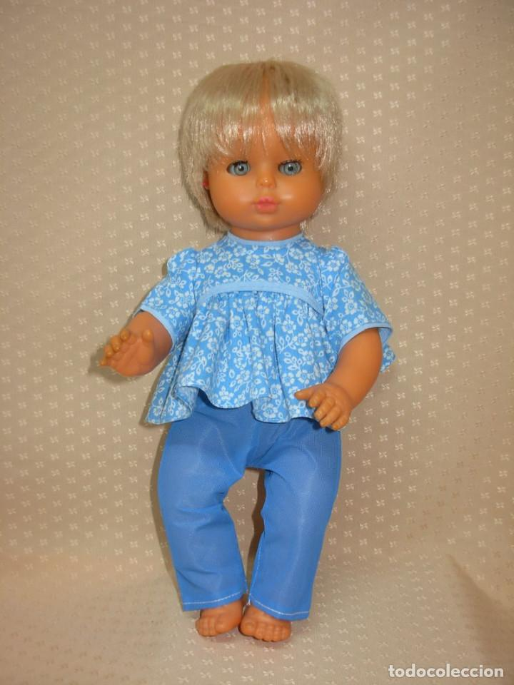Otras Muñecas de Famosa: Muñeco Italiano Migliorati años 60 *ojos de intenso azul* ropa original - Foto 2 - 253560350
