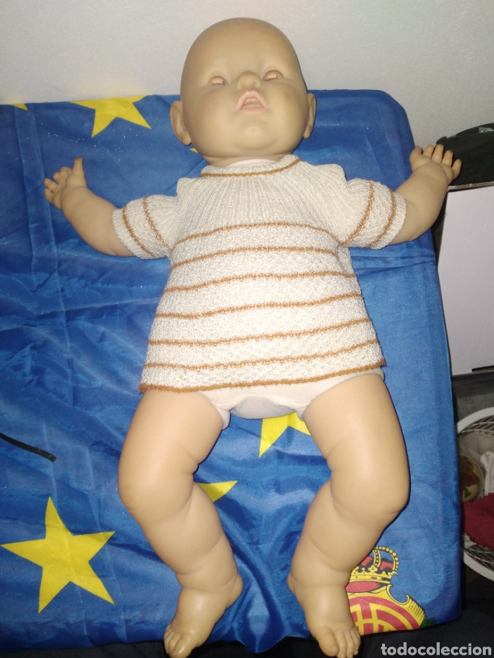 GRAN MUÑECO/BEBÉ DE BERJUSA, AÑOS 80. MIDE 60 CM (Juguetes - Muñeca Española Moderna - Otras Muñecas de Famosa)