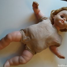 Otras Muñecas de Famosa: ANTIGUA MUÑECA DE FAMOSA MOFLETES? OJOS MARGARITA AZULES. CUERPO TRAPO.. Lote 254805100