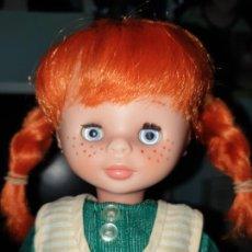 Otras Muñecas de Famosa: LESLY PIPA PIPI DE FAMOSA ÉPOCA NANCY OJOS AZULES. Lote 256003335