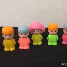 Otras Muñecas de Famosa: LOTE 7 MUÑECOS PINYPON PIN Y PON DE FAMOSA AÑOS 80. Lote 257880035