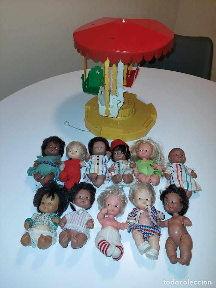 LOTE BARRIGUITAS DE FAMOSA (Juguetes - Muñeca Española Moderna - Otras Muñecas de Famosa)