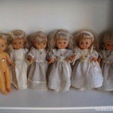 Otras Muñecas de Famosa: LOTE DE 6 MUÑECAS DE FAMOSA PRIMERA COMUNION HELENA A REPASAR VER FOTOS. Lote 261280175