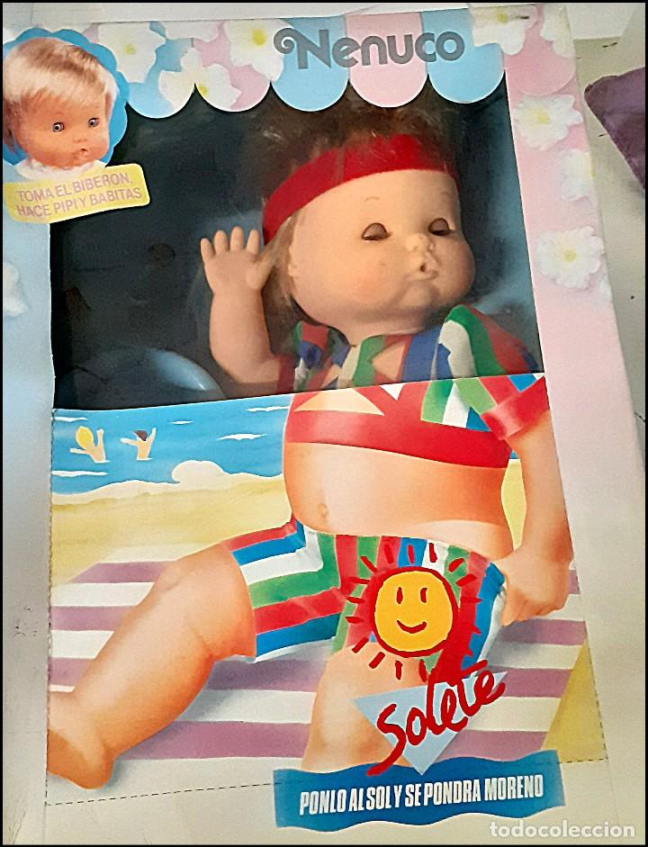 MUÑECO NENUCO SOLETE EN CAJA ORIGINAL (Juguetes - Muñeca Española Moderna - Otras Muñecas de Famosa)