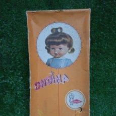 Otras Muñecas de Famosa: CAJA ORIGINAL MUÑECA ONDINA DE FAMOSA AÑOS 60. Lote 268729014