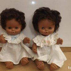 Otras Muñecas de Famosa: 2 MUÑECAS FAMOSA GODINA O CURRINA - MULATA. Lote 270939378