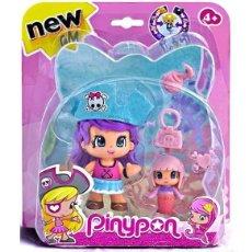 Otras Muñecas de Famosa: PINYPON PIRATA CON GORRO AZUL (037381). NUEVO EN BLÍSTER!!.. Lote 278602238