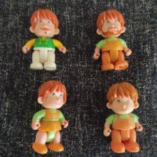 Otras Muñecas de Famosa: MUÑECOS PIN Y PON PINYPON FAMOSA - LOTE 4 MUÑECOS ARTICULADOS. Lote 279579113