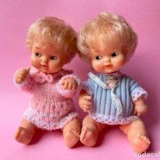 Otras Muñecas de Famosa: 2 PRECIOSOS BARRIGUITAS DE FAMOSA ÉPOCA NANCY. Lote 284102918