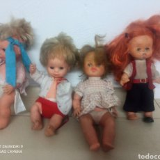 Otras Muñecas de Famosa: LOTE MUÑECAS AÑOS 80 MOCOSETES Y MAS. Lote 287119838