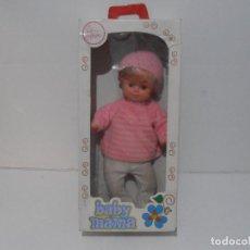 Otras Muñecas de Famosa: MUÑECO BABY MAMA FAMOSA, EN CAJA ORIGINAL SIN USO, AÑOS 80. Lote 292296593