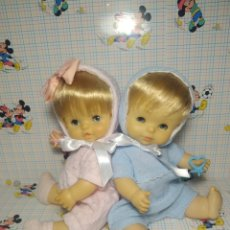 Otras Muñecas de Famosa: PRECIOSA PAREJA DE CHIQUITINES. Lote 293505083