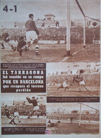 Coleccionismo deportivo: SEMANARIO DEPORTIVO MARCA - Año 1949 - En Portada: EL PARTIDO REAL MADRID - DEPORTIVO DE LA CORUÑA - Foto 3 - 26752416