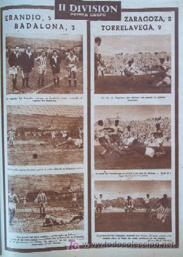 Coleccionismo deportivo: SEMANARIO DEPORTIVO MARCA - Año 1949 - En Portada: EL PARTIDO REAL MADRID - DEPORTIVO DE LA CORUÑA - Foto 6 - 26752416