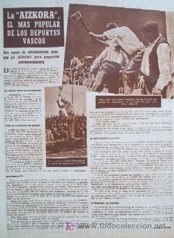 Coleccionismo deportivo: SEMANARIO DEPORTIVO MARCA - Año 1949 - En Portada: EL PARTIDO REAL MADRID - DEPORTIVO DE LA CORUÑA - Foto 7 - 26752416