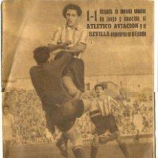 Coleccionismo deportivo: REVISTA DEPORTIVA EDITADA POR LOS TIROLESES. 10 DE ABRIL DE 1945. EQUIPOS DE FUTBOL (VER MÁS). Lote 21897576
