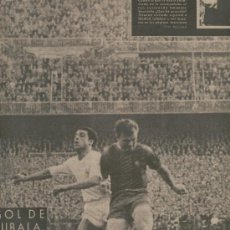 Coleccionismo deportivo: VIDA DEPORTIVA. 1957. VICTORIA DEL REAL MADRID SOBRE EL BARCELONA. GOL DE KUBALA ANULADO.. Lote 27251378