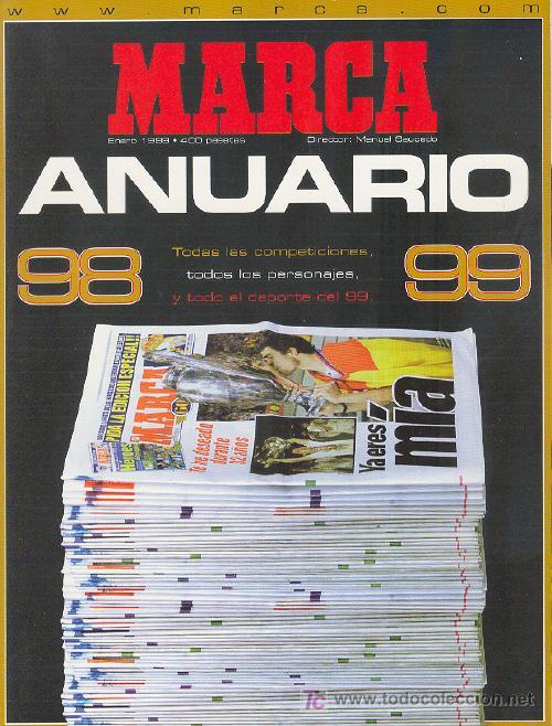 MARCA ANUARIO 98-99 (Coleccionismo Deportivo - Revistas y Periódicos - Marca)