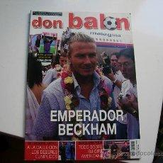 Coleccionismo deportivo: DON BALON NUMERO 1450 CON POSTER GRANDE DE RONALDINHO. Lote 27215123