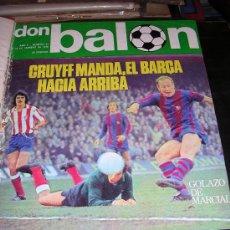 Coleccionismo deportivo: REVISTA ENCUADERNADA DON BALON, 1976 AÑO II Nº21 AL Nº30, COMPLETO. Lote 22442987