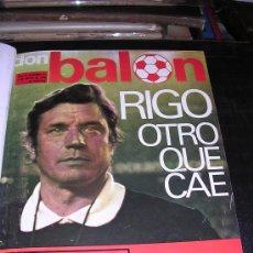 Coleccionismo deportivo: REVISTA ENCUADERNADA DON BALON 1976 AÑO II Nº31 AL Nº40, COMPLETA. Lote 21566062