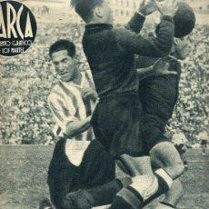 Coleccionismo deportivo: MARCA. SUP. GRAFICO DE LOS MARTES 25 MAYO 1943 Nº 26. ATLETICO BILBAO VENCE AL ATLETICO AVIACION. Lote 7159415