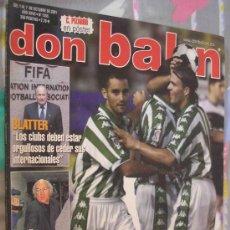Coleccionismo deportivo: DON BALON OCTUBRE 2001. Lote 7768886