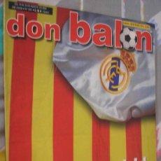 Coleccionismo deportivo: DON BALON AGOSTO 2002. Lote 7769397