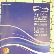 Coleccionismo deportivo: FOLLETO DEL 10 SALÓN NÁUTICO DE MADRID. 22 PÁGINAS.. Lote 8311167