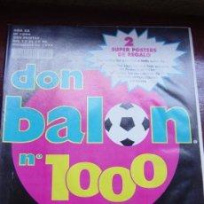 Coleccionismo deportivo: DON BALON Nº 1000. DICIEMBRE 1994. Lote 14674738