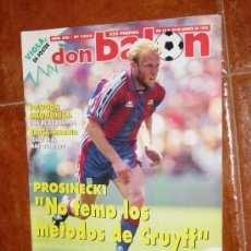 Coleccionismo deportivo: DON BALON Nº 1035, AGOSTO 1995. POSTER VIOLA. PROSINECKI. Lote 10407480