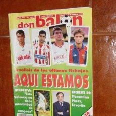Coleccionismo deportivo: DON BALON Nº 1006, ENERO 1995. POSTER REAL CLUB CELTA 94-95. ENTREVISTA PERICO PEREZ. Lote 10407464