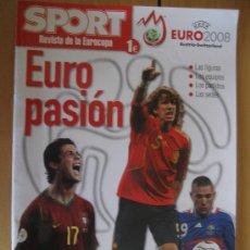 Coleccionismo deportivo: REVISTA SPORT EUROCOPA 2008. Lote 24298816