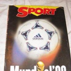 Collezionismo sportivo: REVISTA SPORT. MUNDIAL 98. 122 PAGINAS A TODO COLOR *. Lote 12770020