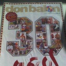 Coleccionismo deportivo: DON BALON 30 AÑOS ESPECIAL. Lote 10426819