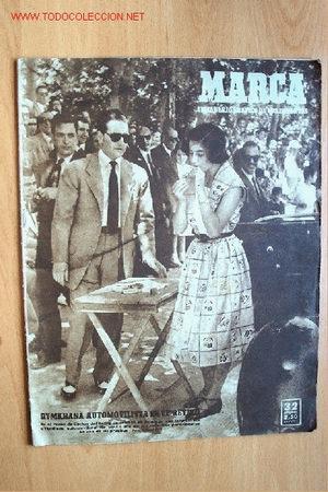 MARCA. SEMANARIO GRÁFICO DE LOS DEPORTES. Nº 392. 6 JUNIO 1950 (Coleccionismo Deportivo - Revistas y Periódicos - Marca)