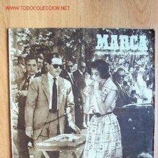 Coleccionismo deportivo: MARCA. SEMANARIO GRÁFICO DE LOS DEPORTES. Nº 392. 6 JUNIO 1950. Lote 26436536