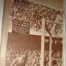 Coleccionismo deportivo: PERIÓDICO -VIDA DEPORTIVA- Nº 754, 29 FEBRERO 1960. . Lote 1209925