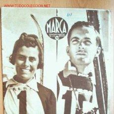 Coleccionismo deportivo: MARCA SEMANARIO GRÁFICO DE LOS DEPORTES Nº 111. 25 DE MARZO DE 1941. Lote 98179010