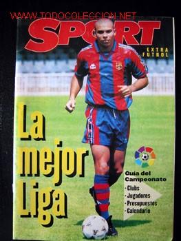 REVISTA SPORT EXTRA FUTBOL TEMPORADA 96-97 (Coleccionismo Deportivo - Revistas y Periódicos - Sport)