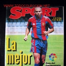 Coleccionismo deportivo: REVISTA SPORT EXTRA FUTBOL TEMPORADA 96-97. Lote 12181089