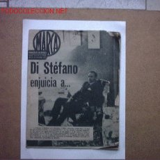 Coleccionismo deportivo: DI STEFANO FUTBOL REAL MADRID MARCA Nº 993 - 25 DICIEMBRE 1961. Lote 26762357