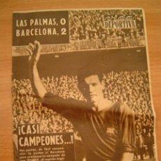 Coleccionismo deportivo: VIDA DEPORTIVA LUNES 6 DE ABRIL DE 1959 Nº 707 CASI CAMPEONES . Lote 9720101