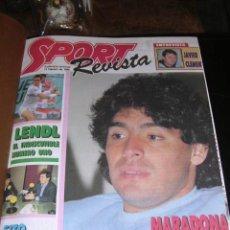 Coleccionismo deportivo: REVISTA SPORT, SUPLEMENTO DOMINICAL DEL 14 DE FEBRERO DE 1988 AL 26 DE JUNIO DE 1988 - 21 NUMEROS. Lote 9800667