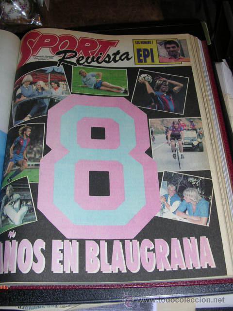 Coleccionismo deportivo: REVISTA SPORT, SUPLEMENTO DOMINICAL DEL 14 DE FEBRERO DE 1988 AL 26 DE JUNIO DE 1988 - 21 NUMEROS - Foto 4 - 9800667