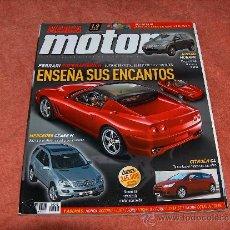 Coleccionismo deportivo: REVISTA MARCA MOTOR Nº. 15. ENERO 2005. Lote 9957408