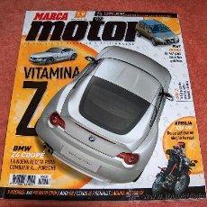 Coleccionismo deportivo: REVISTA MARCA MOTOR Nº. 27. ENERO 2006. Lote 9958344