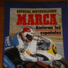Coleccionismo deportivo: MARCA. SUPLEMENTO PERIODICO. MUNDIAL DE MOTOS 90. Lote 27563114